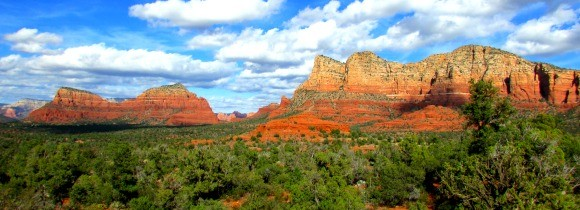 Bell Rock and Other Formations in Sedona