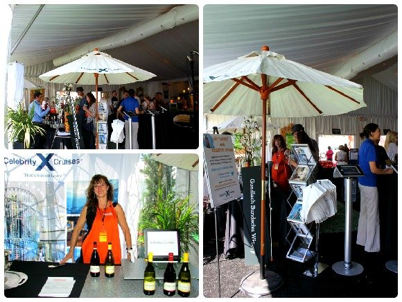 Celebrity Cruises in Palm Desert Food and Wine Festival. California