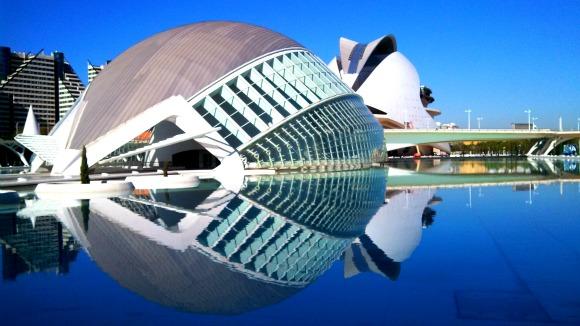 L'Hemisfèric, City of Arts and Sciences, Valencia, Spain
