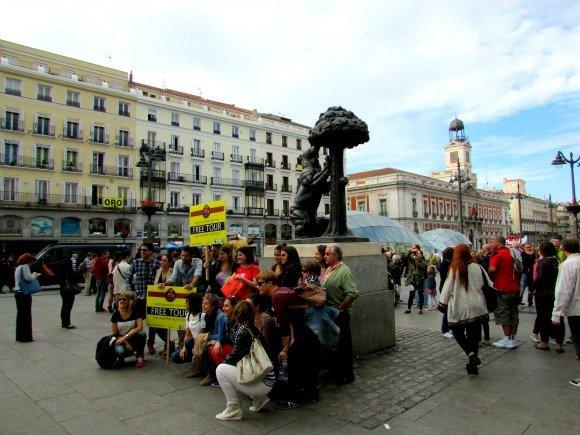 Oso y Madrono, Puerta del Sol, Madrid, Spain