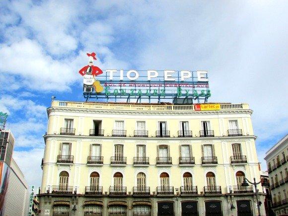 Tio Pepe, Puerta del Sol, Madrid, Spain