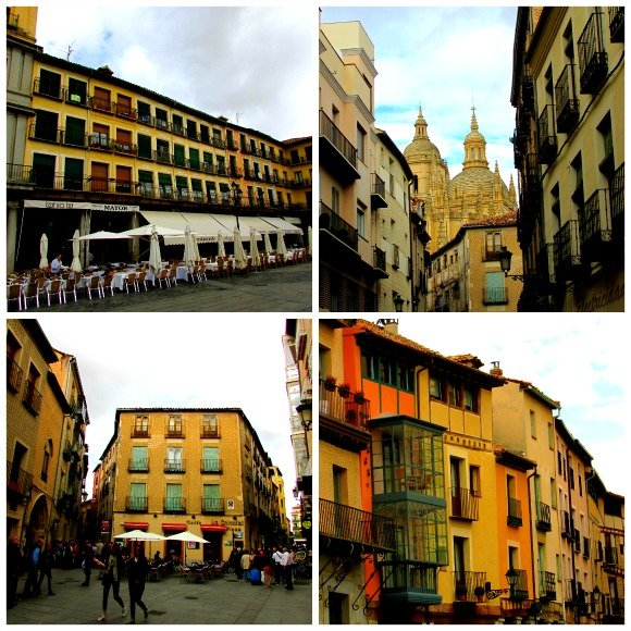 Old Town, Segovia, Spain