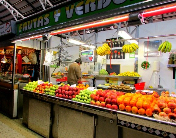 Mercat Central or Central Market, Valencia, Spain