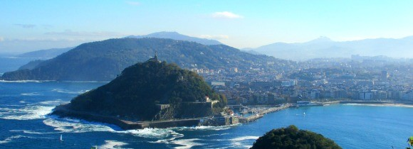 San Sebastian seen from Mount Igueldo