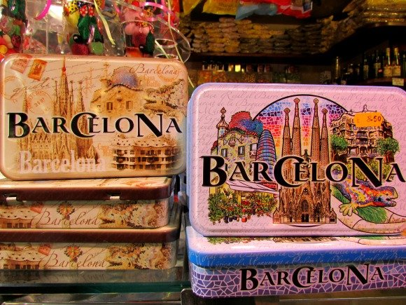 Mercat Santa Caterina, Barcelona, Spain