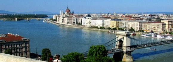 Budapest: The Chain Bridge and Buda Castle