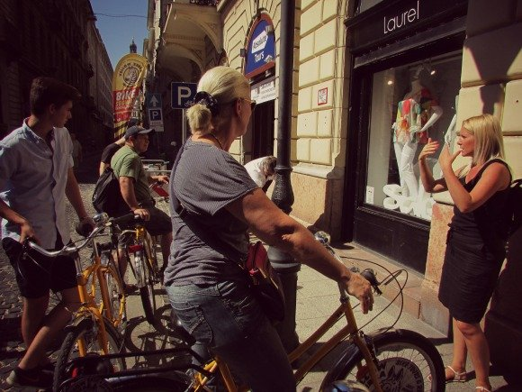 Tour Guide, Yellow Zebra Bike Tours, Budapest
