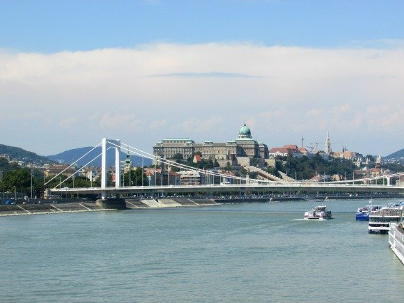 View from Liberty Bridge, Yellow Zebra Bike Tours, Budapest