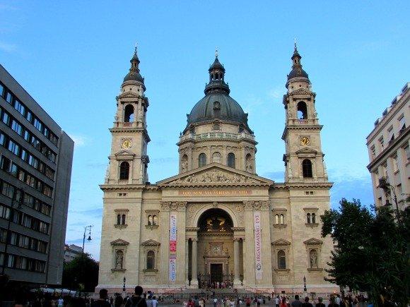 St. Stephen's Basilica, Yellow Zebra Bike Tours, Budapest