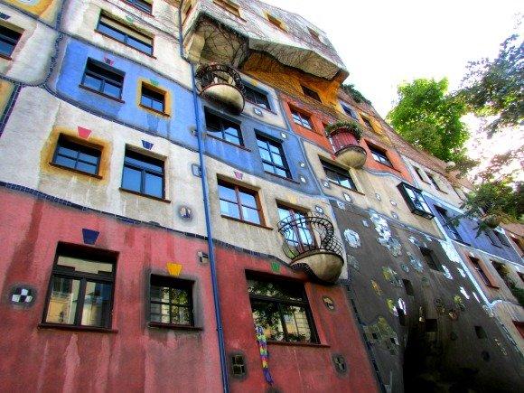 Hundertwasserhaus, Vienna, Austria