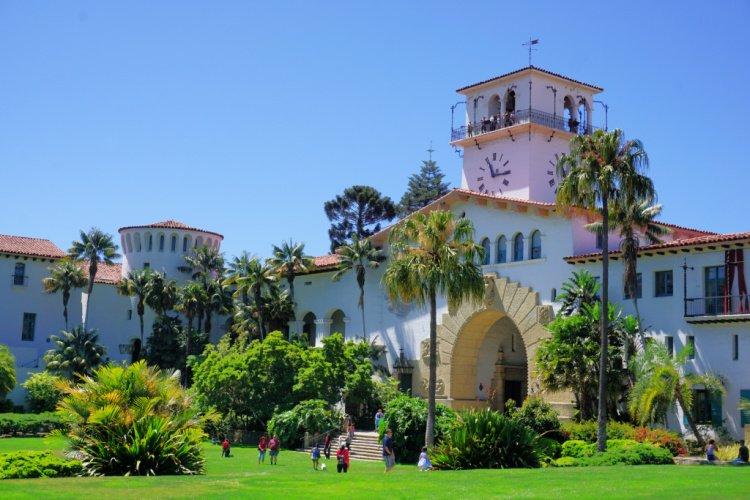 Places to Visit in Santa Barbara, Santa Barbara Courthouse, California