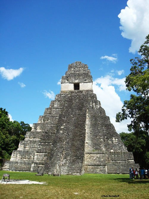 Temple of the Grand Jaguar or Temple 1