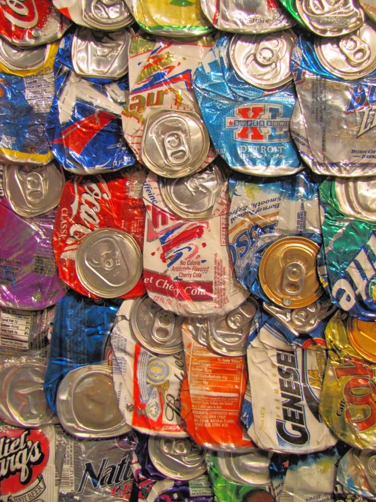 Cans at Las Vegas Spring Preserve
