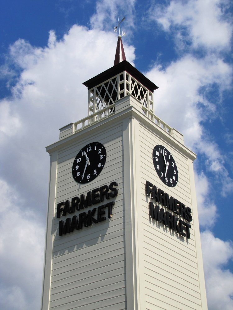 Los Angeles Original Farmers Market white tower
