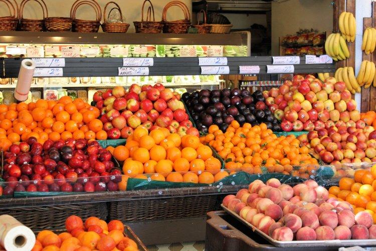 Fresh fruit at Los Angeles Original Farmers Market