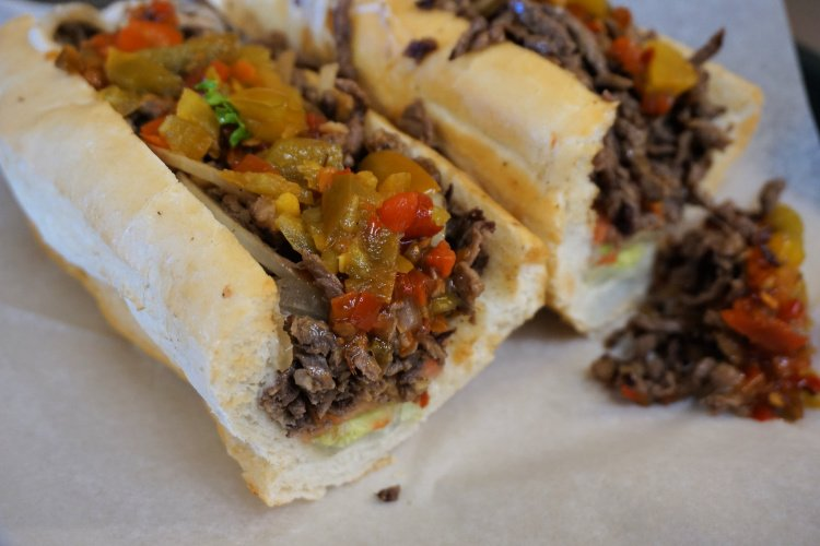 Cheesesteak from Papa Jake's Sub Shop