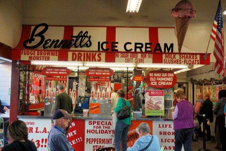 Bennette's Ice Cream, Los Angeles Original Farmers Market