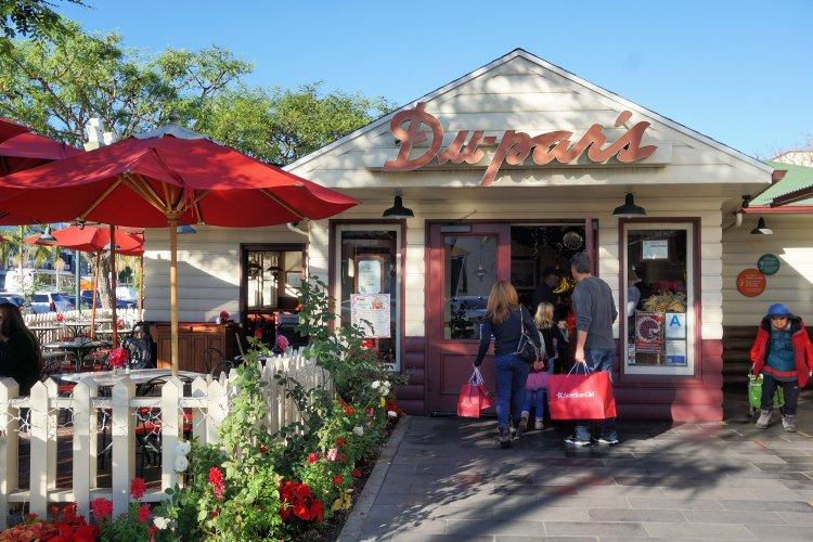 Du-par's (pies and breakfast), Los Angeles Original Farmers Market