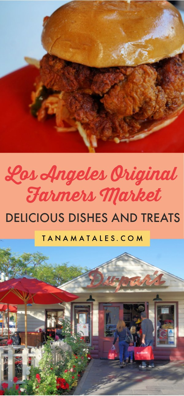 Things to do in Los Angeles, #California - Los Angeles Original Farmers Market is one of the top attractions in the city.  Find out where to get the best dishes and treats | Los Angeles Food | Los Angeles Restaurants | Miracle Mile | The Grove | Los Angeles Attractions | Fairfax | Los Angeles Food Bucket List | Los Angeles Food Spots | Los Angeles Foodies | Los Angeles Food Instagram | Los Angeles Deserts | Los Angeles Best Food
