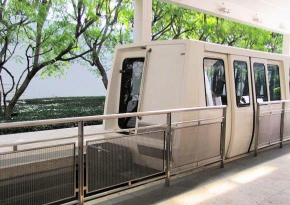 Tram, The Getty Center, California