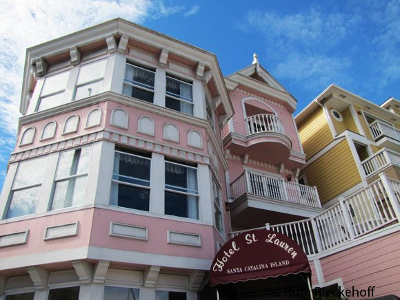 Pink Hotel Avalon Catalina Island California