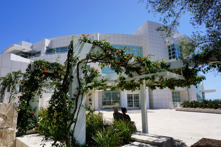 Beautiful architecture, The Getty Center, Los Angeles