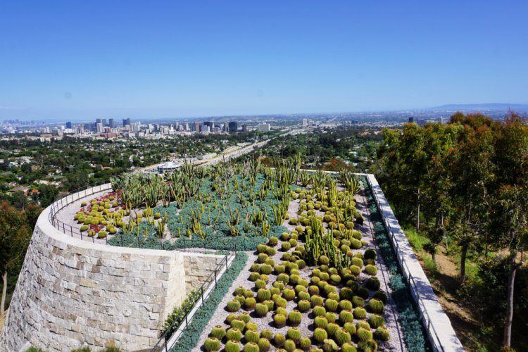 South promontory and cactus garden, Los Angeles, California