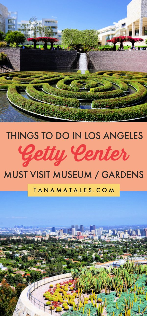 Things to do in #LosAngeles, #California – Travel tips and vacations ideas – The Getty Center, located close to Downtown Los Angeles, Santa Monica and Venice Beach, is one of the premier museums in the United States.  Make sure to visit the collections, exhibitions, garden and viewpoints.  Plus, the museum's structure showcases modern architecture.  It is a place to enjoy with the entire family!