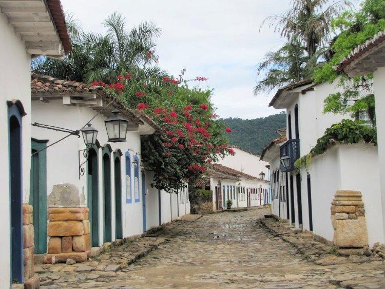 Colonial center of Paraty, Rio de Janeiro