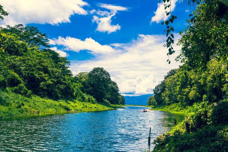 Waterway in Hinduras