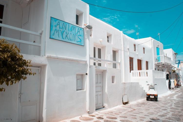 Mykonos White Buildings