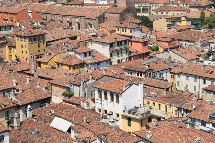Rooftops in Verona, Most Insane Moments I Have Experienced During my Travels