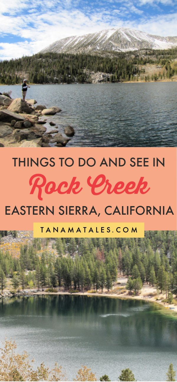 Things to do in the Eastern Sierra Nevada, #California - Rock Creek is considered one of the premier areas for outdoor lovers in the Eastern Sierra.  It is not only gorgeous views.  Enthusiasts are attracted because of the pack station, 10 campgrounds, 3 trailheads, a creek and a lake full of fish | Eastern Sierra Camping | Eastern Sierra Road Trip | Eastern Sierra Camping | Eastern Sierra Fishing | Eastern Sierra Photography | Highway 395 | Bishop