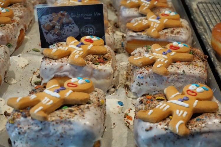 Gingerbread donuts from Donut Bar, Ensenada, Mexico,Tips for Visiting Ensenada, Mexico