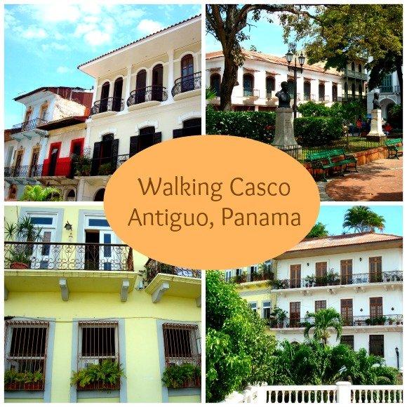 Walking Casco Viejo, Panama