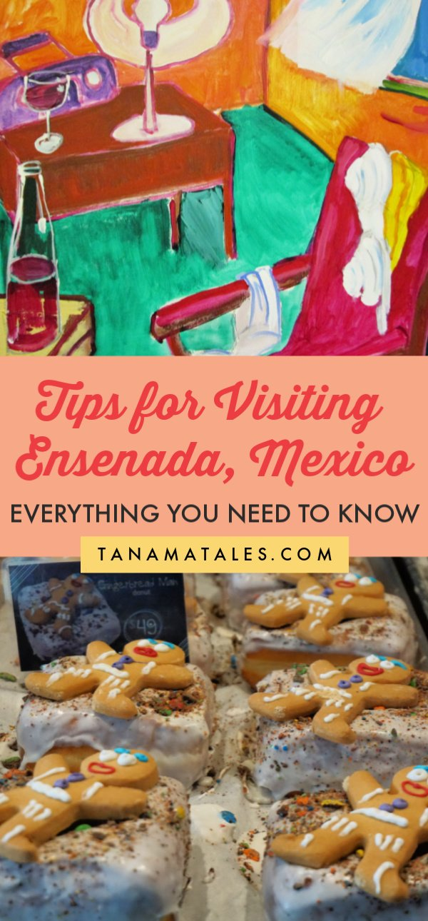 Things to do in #Ensenada, #Mexico - Travel tips and vacation ideas - Planning a trip to Ensenada? I am providing details on how to stay safe, how to handle money, what to do, what to eat, what to bring and how to move around. Let me show you the best attractions (La Bufadora, Malecon), food (seafood carts), restaurants (La Concheria, Muelle 3) and shopping areas. #BajaCalifonria
