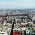 View of the Zocalo from the Torre Latinoamericana, Mexico City