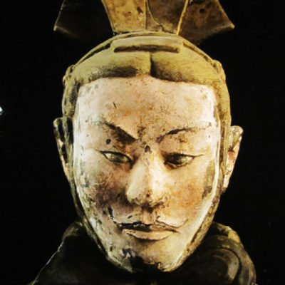 Terracotta Warriors in California (Bowers Museum)