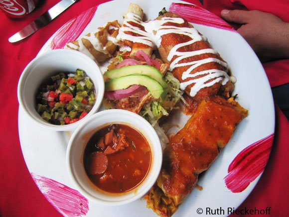 Mexican Combo at Fridas