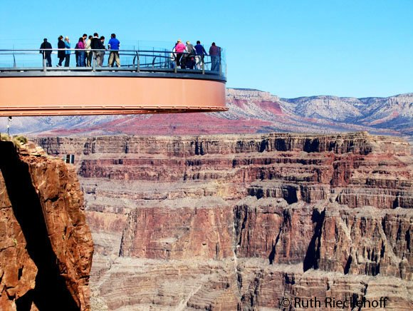 Skywalk at the Grand Canyon West