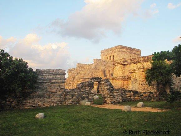 El Castillo at Sunset