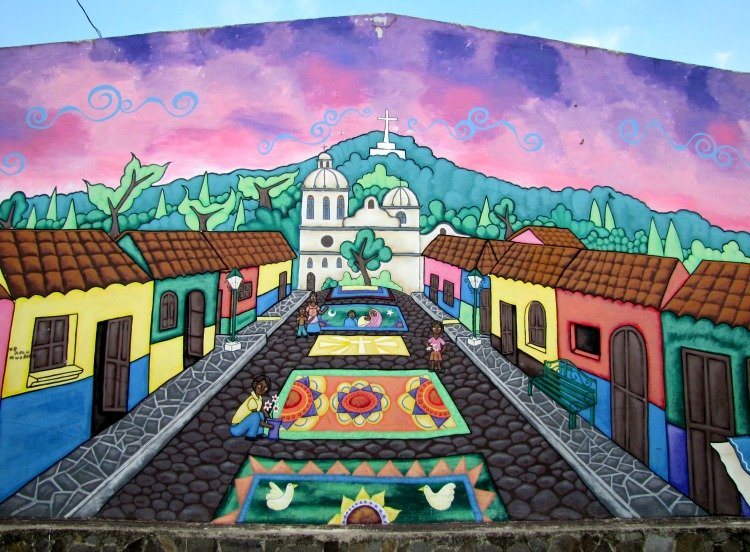 Ataco, El Salvador, Mural