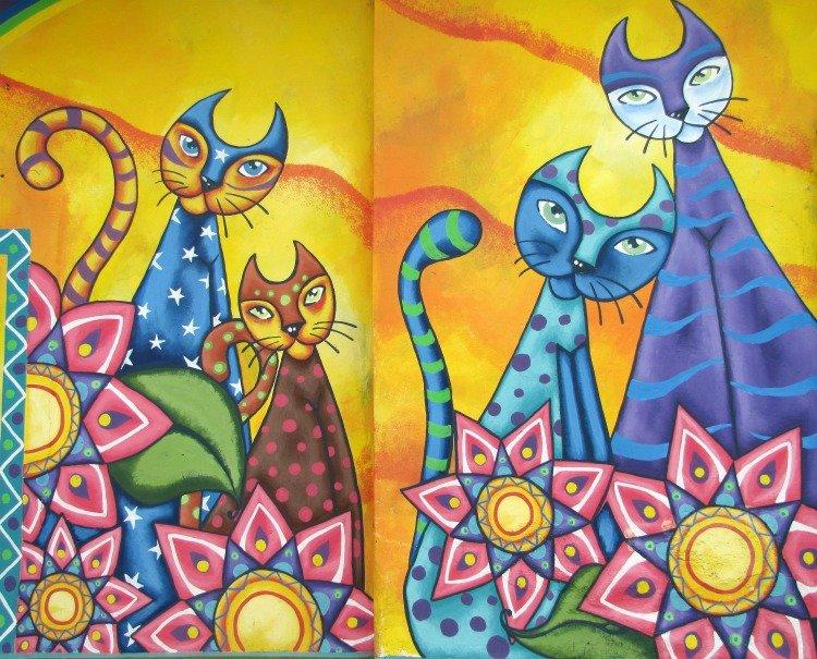 axul artesanias, gatos, Ataco