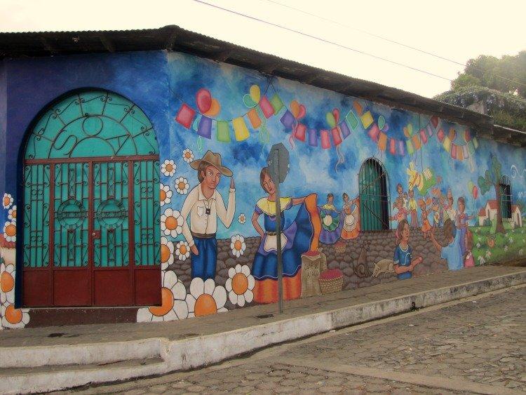Ataco El Salvador, Murals