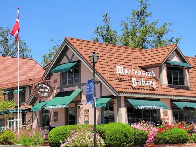 Mortensen's Bakery in Solvang, California