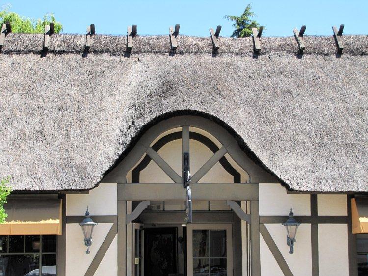 Danish provincial architecture at Solvang, California