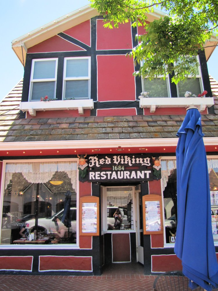 The Red Viking Restaurant at Solvang, California