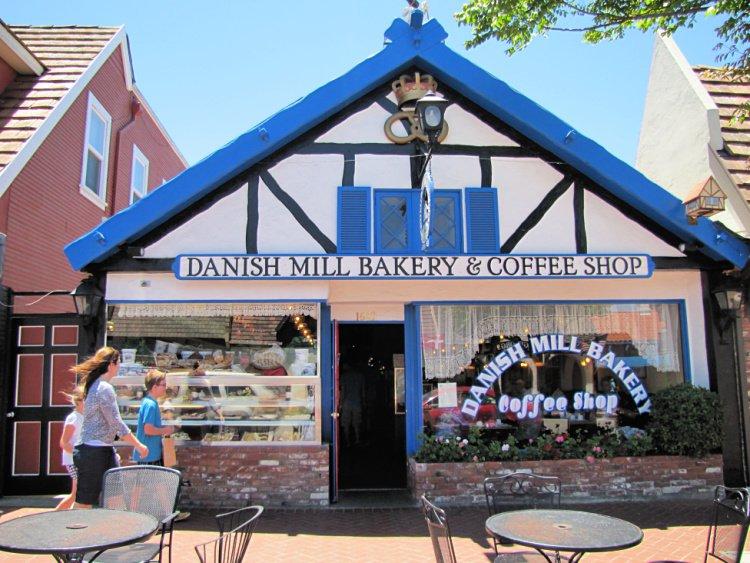 Danish bakery at Solvang, California