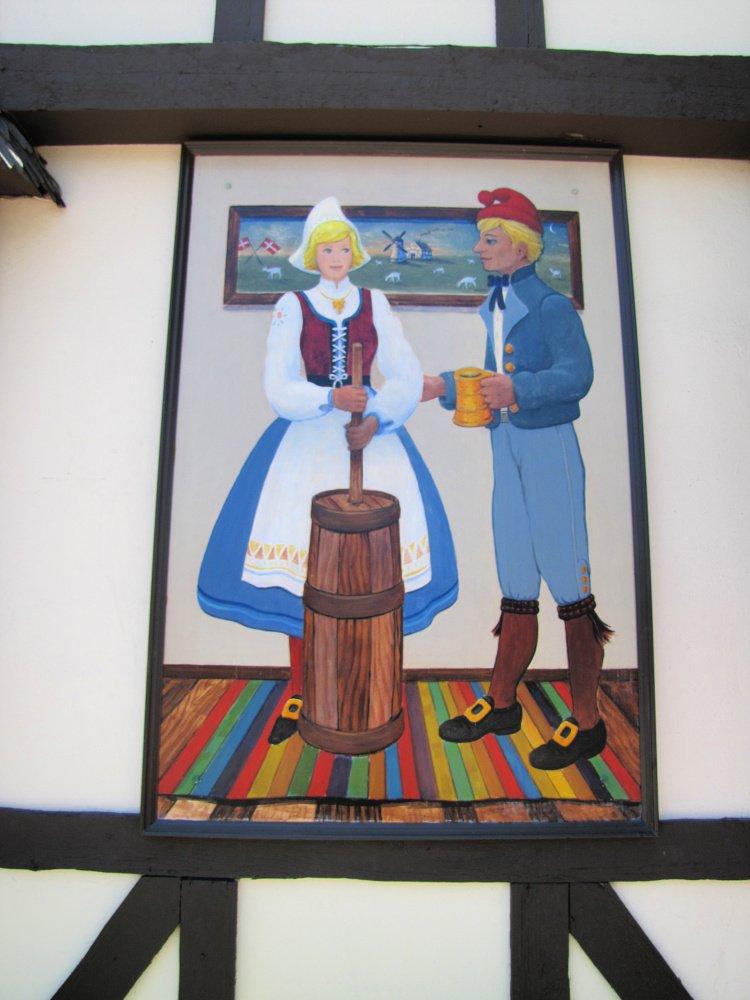 Danish traditions in Solvang, California