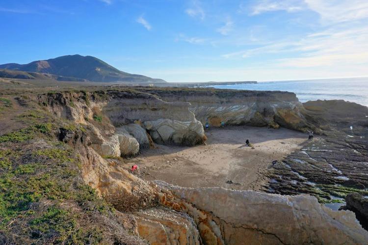 Coralline Cove, Montaña de Oro State Park, San Luis Obispo, California